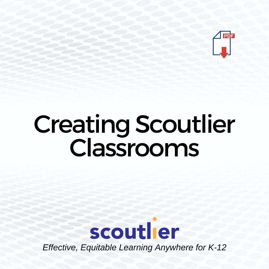 "Open ""Creating Scoutlier Classrooms"" PDF"