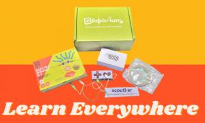 Contents inside of Eduporium x Scoutlier Kit